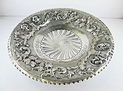 Antique Italian German 800 Silver Footed Bowl