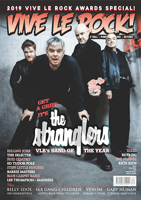 VIVE LE ROCK ISSUE 62 - April 2019 : The Stranglers, Billy Idol, Killing Joke...