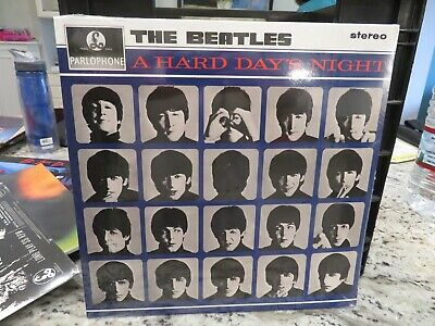 SEALED THE BEATLES A HARD DAYS NIGHT SEALED LP 180g 2017 UK PRESS - GENUINE COPY