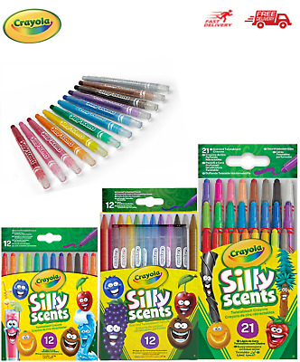 Crayola Crayons, Markers, Paints, Pencils, Siily Scents, Colour Wonder, Tubs ...