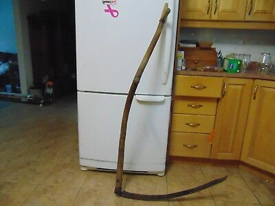 vintage /antique   mowing scythe    nice #   6830
