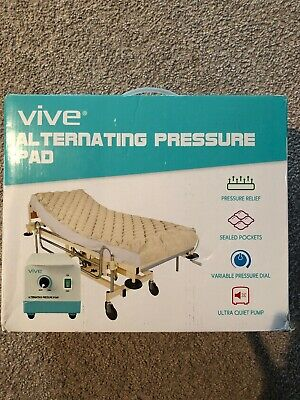 Alternating Pressure Mattress by Vive Includes Electric Pump & Pad Inflatable