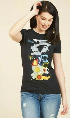 Game Of Thrones MAP OF WESTEROS Girls Women's T-Shirt Official NWT  XS-4X