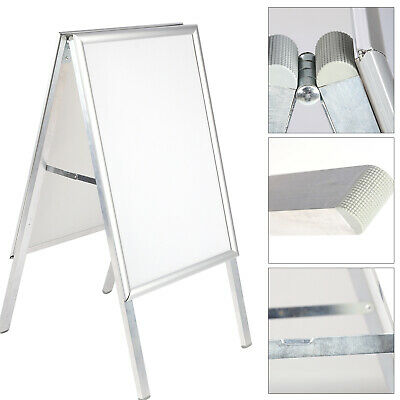 New A2  Poster Sign A-Board Holder Frame  Double Side Sign Display Stand UK