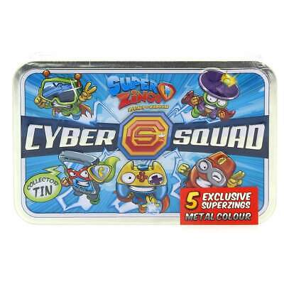 Superzings Pack Cyber Squad Serie 2
