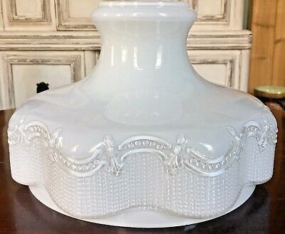"""Vintage Cased Glass Lamp Shade 10 """" ALADDIN  B&H MILLER RAYO Excellent"""