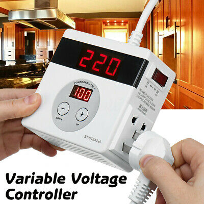 220V 4000W Variable Voltage Controller For Fan Speed Motor Control