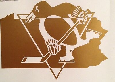 Pittsburg #Penguins NHL Hockey Vinyl Decal Sticker #Pens Stanley Cup Champs