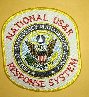 National US&R Response System FEMA Embroidered Patch