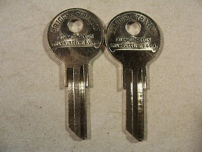 2 Briggs & Stratton  Oem  B1 1929-1968 Indian Motor  Cycle  Key Blank