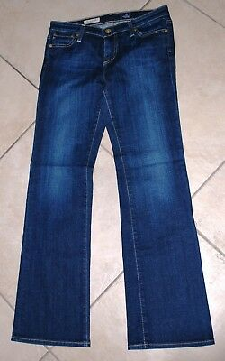 3086e444c9c ADRIANO GOLDSCHMIED AG The Angelina Petite Boot Cut Dark Jeans Sz 28 ...