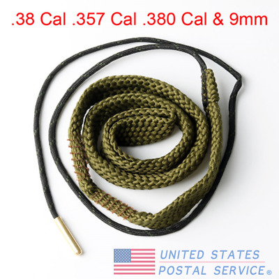 Bore Snake Airsoft Cleaning .38 Cal .357 Cal .380 Cal&9mm Boresnake Cleaner Set