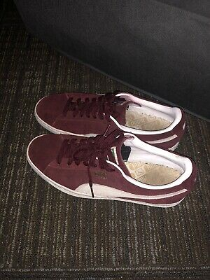 3468840f155 PUMA MEN SIZE 11 Used Gray Suede Low Top - $35.00 | PicClick