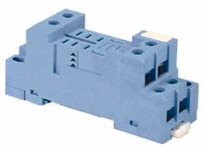 Finder BASE FOR RELAY BOX CLAMP 8-Pins Open Terminals, Accepts 99-01 LED Modules