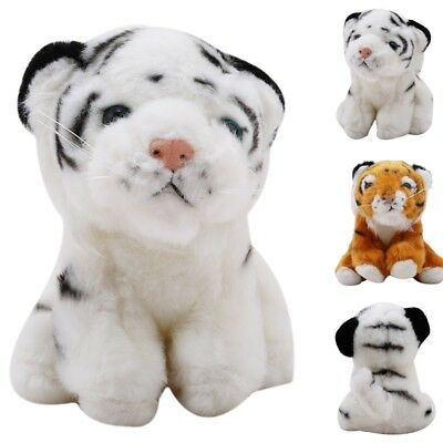 Simulate Plush Tigers Cub King of Animals Stuffed Toys Baby Gifts Decor Supplies