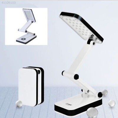 16 LED Rechargeable Foldable LED Desk Reading Lamp Portable Table Lamp Fold Q5A9