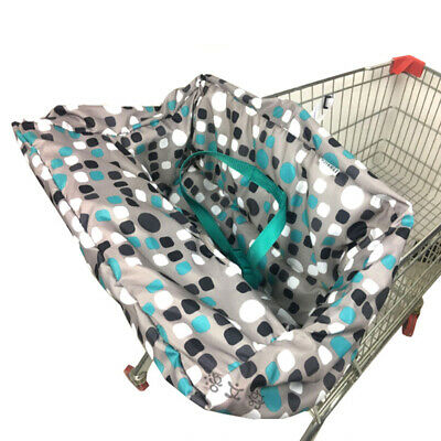 Toddler Baby Boys Girl's Shopping Cart & High Chair Seat Cover Mat Durable 1X