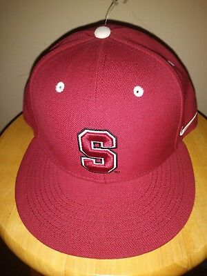 designer fashion a8dff 44c39 Stanford Cardinal Cap Nike True Wool Hat NCAA Red College V. CRIMSON Adult  7 3