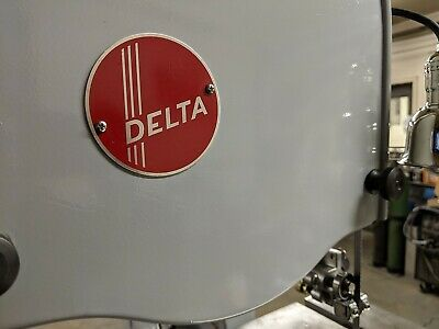 Name Plates For Vintage Delta Eq'mt - Same Decals, But Now On Laser Cut Plates