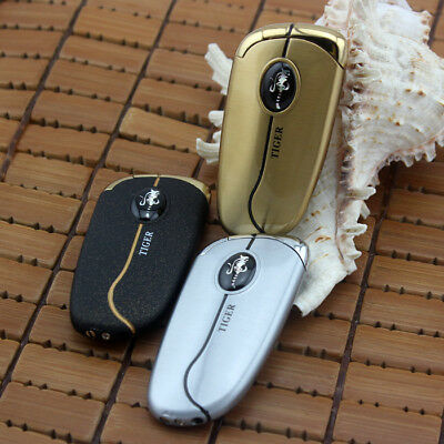 3 pcs Tiger Brand Windproof Jet Torch Lighter Butane Gas Pipe Cigarette Lighters