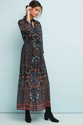 Brand NWT ANTHROPOLOGIE CAMILA FLORAL MAXI DRESS BY LAIA  Size S small RTL 248