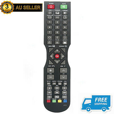 New (QT166, QT155, QT155S) QT1D Remote Control for SONIQ TV - NO SETUP NEEDED