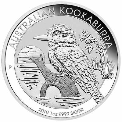 2019 Australian Kookaburra 1oz .9999 Silver Bullion Coin - The Perth Mint