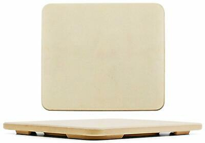 12inch Made of Cordierit 15inch GA Rectangular Pizza Stone for Oven and Grill