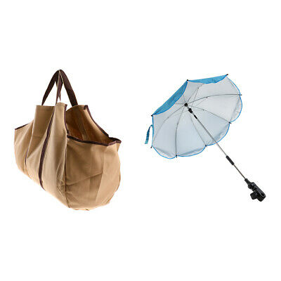 Anti-Scratch Handbag Heavy Duty Holder & Anti-UV Umbrella, Universal Clamp