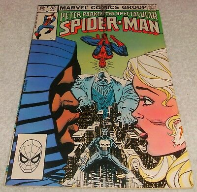 Marvel Comics Peter Parker Spectacular Spiderman # 82 Vf 1976 Series