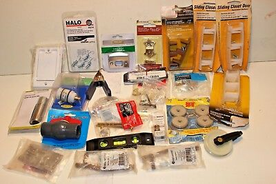 JUNK DRAWER LOT MISC SMALLS TOOLS Hardware Door Hinge Accessories Construction