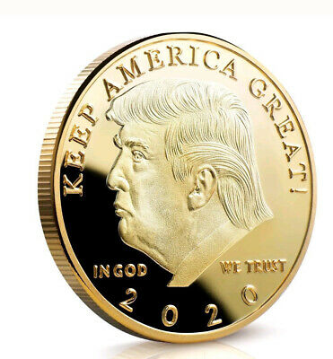 Hot 2020 Donald Trump Eagle Coin Make America Again 45th President US Gold