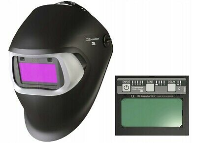 3M Speedglas Welding Helmet 100 (BLACK) with 100V Filter - 751120 - RRP: £170
