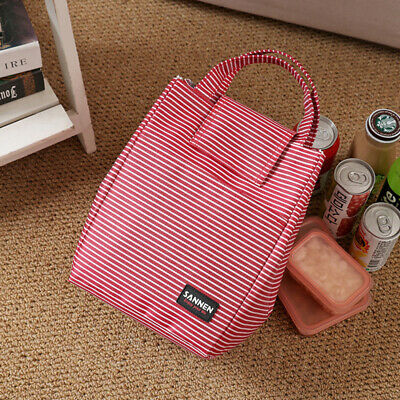Insulated Lunch Box Tote Bag Travel Picnic Case Hot And Cold Food Thermal ONE