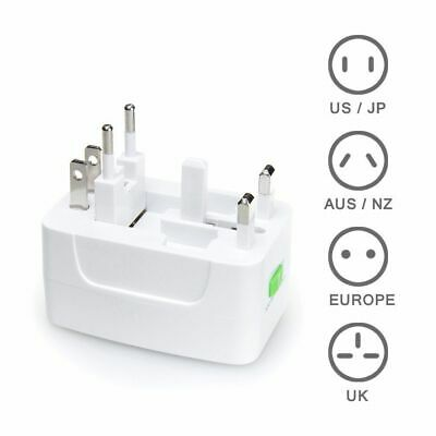 International All In One Power Adapter Wall Charger Socket Travel Plug Converter