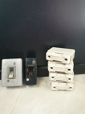 Qty Vintage switches & ceramic fittings