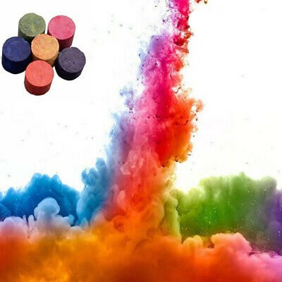 10pcs Colorful Smoke Cake Show Smoke Effect Round Bomb Stage Photography Props