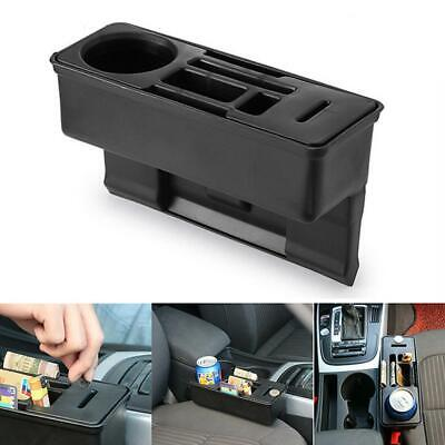 Car Seat Crevice Storage Box Organizer Coin Phone Cup Holder Storage Tidy Kit