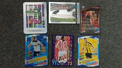 Mixed TCG Topps Match Attax Slam Attax WWE Wrestling Football Trading Cards