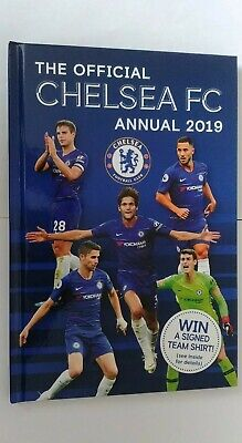 Chelsea FC Official 2019 Annual Brand New Football Book Reduced for 7 days