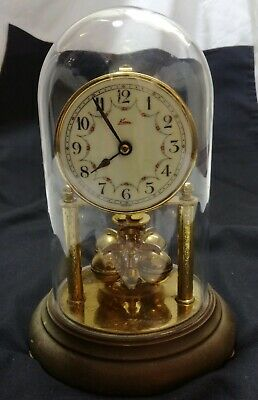 Kern Anniversary Clock 400 Day Glass Domed Carriage Clock Spares Repair