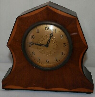 Vintage Wooden Mantle Clock - Spares & Repairs