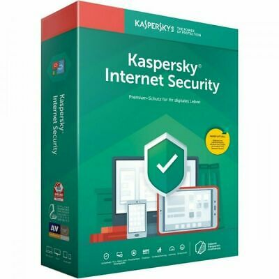 Kaspersky Internet Security 2019 Vollversion 1 Geräte 2 Jahre Download ESD