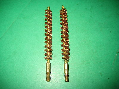 WW 2 ERA US MILITARY .30 CAL.BRASS BORE BRUSH lot of two - US MILITARY - NOS