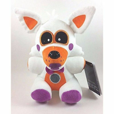 "NEW FNAF Exclusive 8"" Lolbit Plush Five Nights at Freddy's Sister Location Toy"