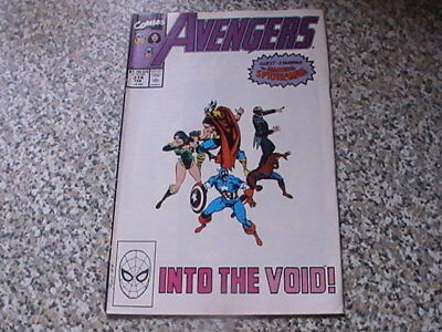 The Avengers # 314   -    Into The Void  -  Spider-Man Appearance