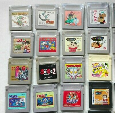 Juegos Game Boy Clasica Jp Jpn Japan Gameboy Color Gb Gbc Version Japonesa