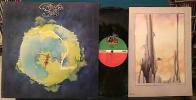 YES FRAGILE~ NM/SVG+ ORIG 1972 G/F LP w/BOOK~ROUNDABOUT~WAKEMAN~HOWE~SQUIRE