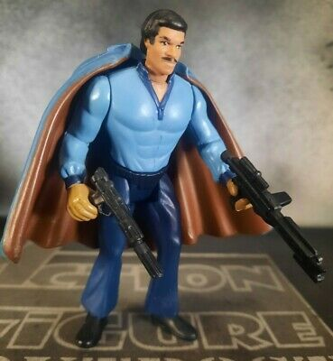LANDO CALRISSIAN 1995 BESPIN OUTFIT STAR WARS Power POTF Force 2 Action Figure