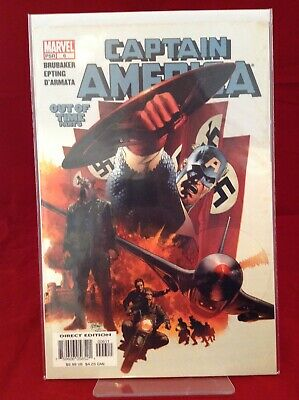 Captain America #6 2005 Marvel Comics First Winter Solider